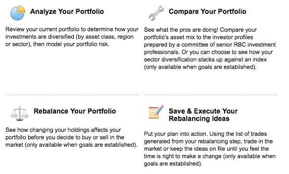 RBC Direct Investing - Tools