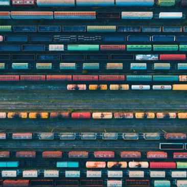 railway stocks icon